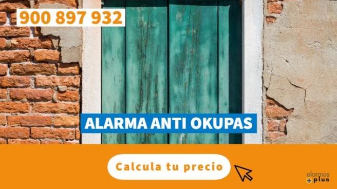 alarmas anti okupas