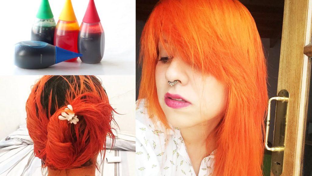 Cómo pintar el cabello sin tinte