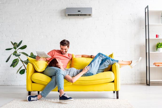 Ahorrar energía eléctrica usando aire acondicionado