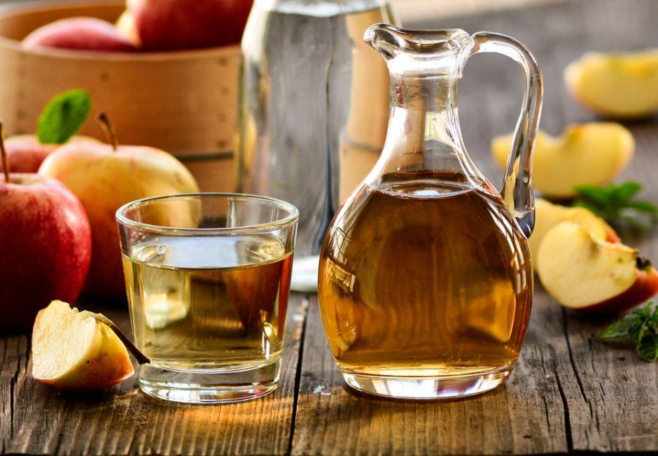 Vinagre de manzana con madre